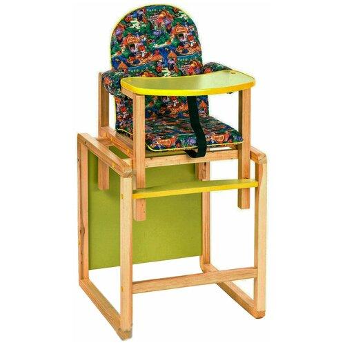 Купить Стульчик-парта ВИЛТ Джунгли, зеленый, Стульчики для кормления