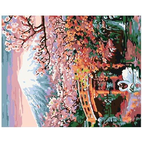 Красота востока Раскраска картина по номерам на холсте