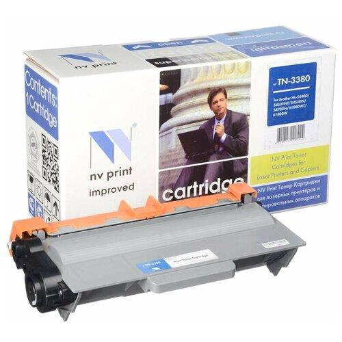 Фото - Картридж NV Print TN-3380 для Brother, совместимый картридж nv print tn 2175t для brother совместимый