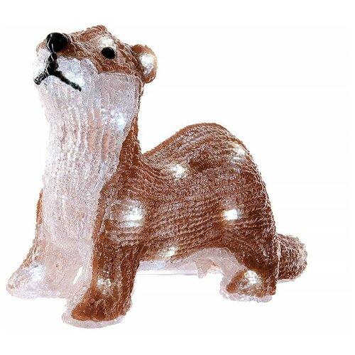 Фигурка Kaemingk Сурикат светодиодная 29 см (492127) коричневый