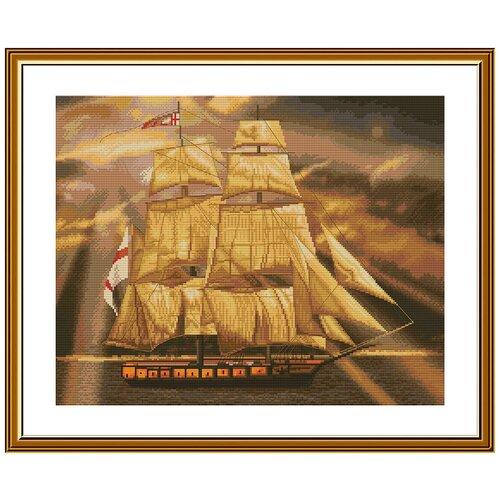 Купить Набор для вышивания Нова Слобода РЕ №10 3505 Парусник, NOVA SLOBODA, Наборы для вышивания