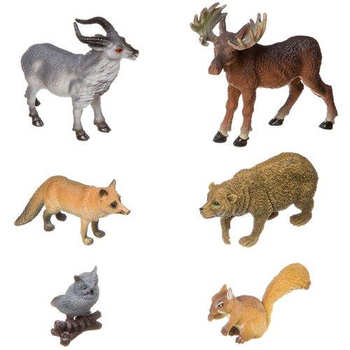 Фото - Фигурки BONDIBON Ребятам о зверятах - Дикие животные ВВ3136 фигурки bondibon ребятам о зверятах домашние животные вв1637