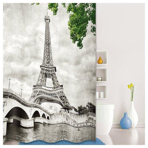 Фото - Штора для ванной IDDIS 541P18Ri11 180x200 серый штора для ванной iddis 680p18ri11 180x200 зеленый черный