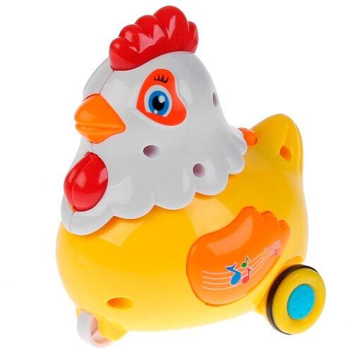 Фото - Каталка-игрушка Умка Курочка (1703A127-R) желтый игрушка для ванной умка бегемотик b1410463 r красный желтый зеленый