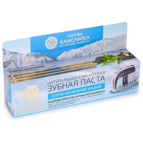 Зубная паста Natura Siberica Для белоснежной улыбки, 100 мл зубная паста natura siberica для чувствительных зубов 100 мл