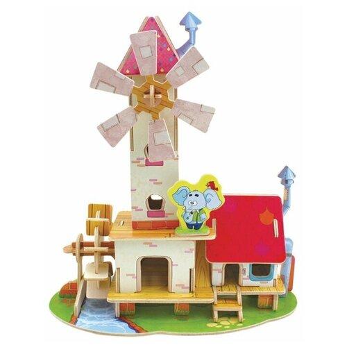 Сборная модель REZARK Лесные домики. Дом мельника FHS-001