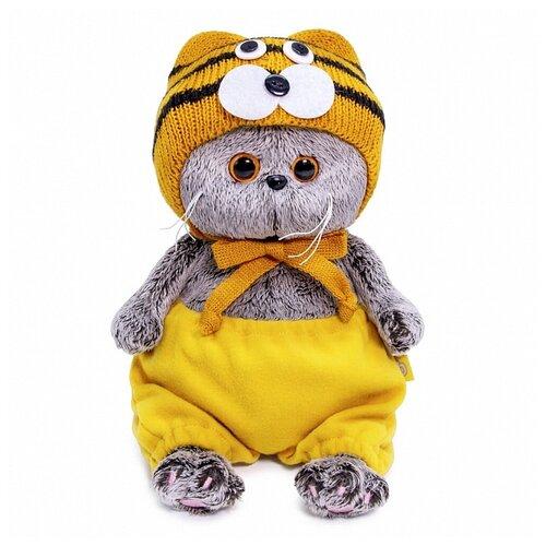 Фото - Басик BABY в шапке тигренка 20 см BudiBasa BB-078 игрушка мягкая budi basa басик baby в шапке панда 20 см bb 070