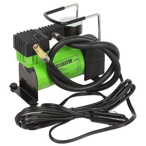 Автомобильный компрессор Alligator AL-300 зеленый
