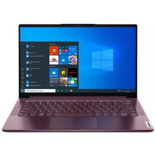 "Ноутбук Lenovo Yoga Slim 7 14IIL05 (Intel Core i5 1035G4 1100MHz/14""/1920x1080/8GB/256GB SSD/Intel Iris Plus Graphics/Windows 10 Home) 82A100H3RU orchid"