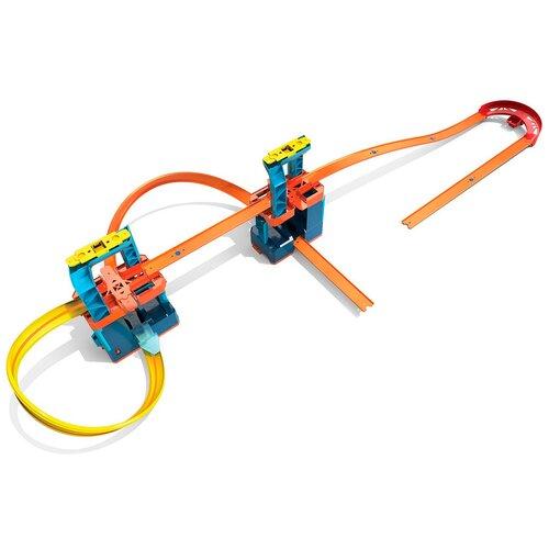 Трек Hot Wheels Track Builder Unlimited Ultra Boost Kit GLC97 launcher track t rex rampage hot wheels