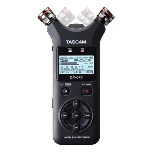 Диктофон Tascam DR-07X черный