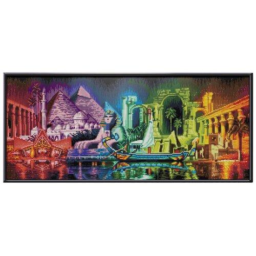 Купить Алмазная живопись Набор акриловой вышивки Краски Египта (АЖ-1759) 70х30 см, Алмазная вышивка