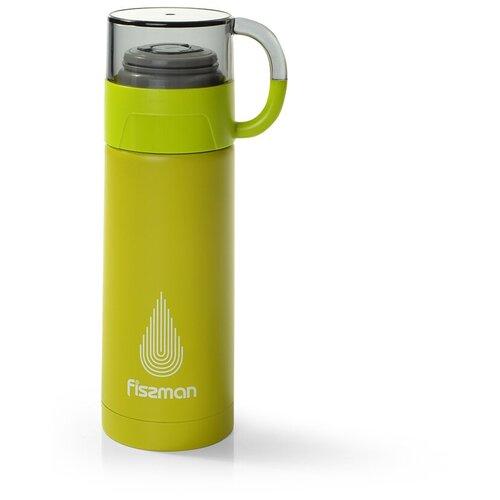 Классический термос Fissman 9652/9653, 0.35 л зеленый