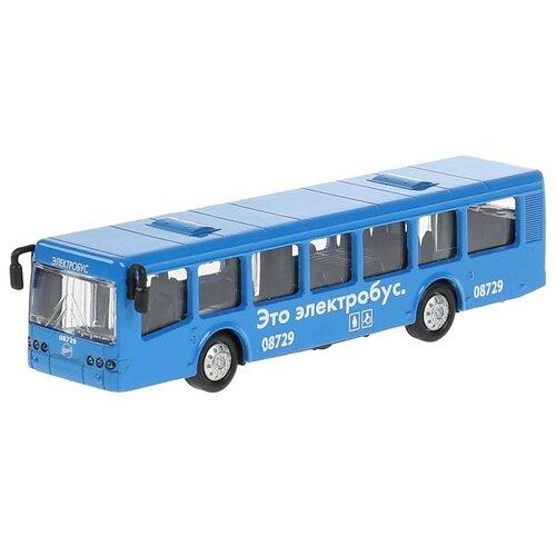 Фото - Автобус ТЕХНОПАРК Электробус Лиаз-5292 (SB-16-65-BUS-BL(B)-WB), 16.5 см, голубой автобус технопарк рейсовый sb 16 88 blc 7 5 см желтый