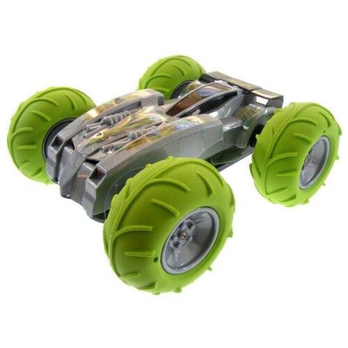 Машинка-перевертыш CS Toys CS-0931 39 см зеленый/серый cs toys пистолет пневматика металлический 15 см с глушителем g 3a cs g3a