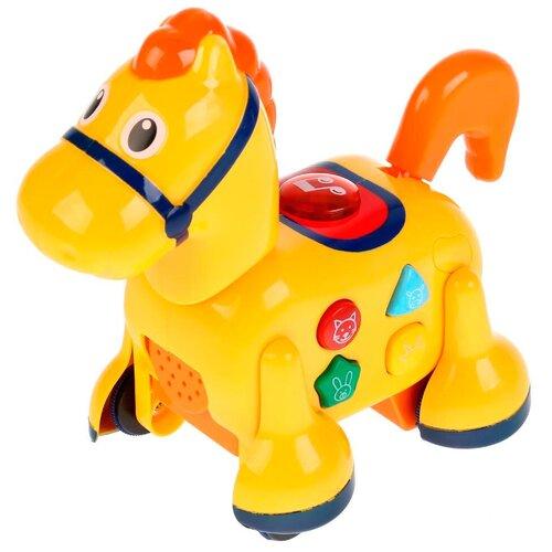 Каталка-игрушка Умка Лошадка (B248838-R) желтый