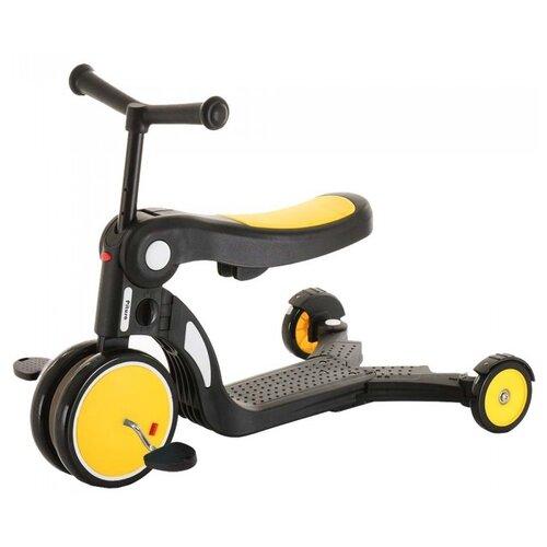 Детский самокат-беговел Pituso HD-200, Желтый