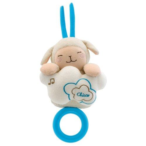 Купить Подвесная игрушка Chicco Мягкая овечка (60046) бежевый, Подвески