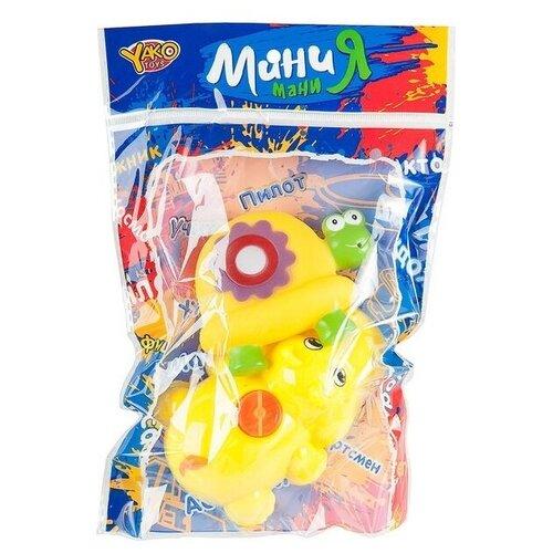 Купить Набор из 2 игрушек-брызгалок в ванну, пвх, МиниМаниЯ, РАС 15х23см, арт. М6716., Yako, Игрушки для ванной