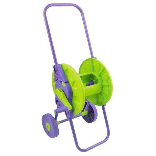 Фото - Катушка PALISAD 67405 зеленый / фиолетовый сучкорез palisad 60522 зеленый фиолетовый