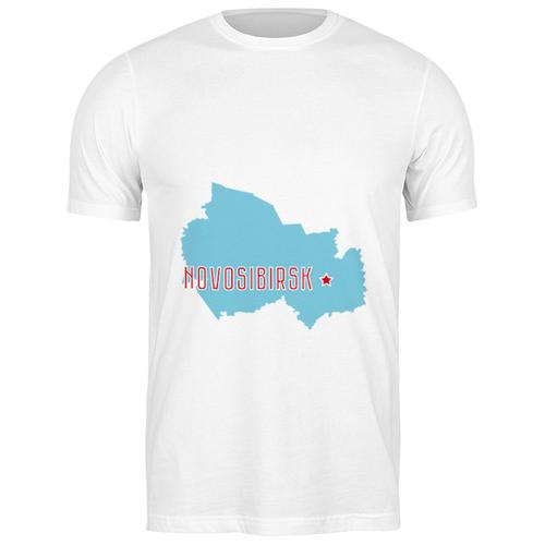 Футболка классическая Новосибирская область. Новосибирск #2194315 (цвет: БЕЛЫЙ, пол: МУЖ, качество: ЭКОНОМ, размер: 2XL)