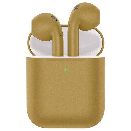 Беспроводные наушники Hoco ES32 Plus, gold наушники hoco es28 original series apple champagne gold
