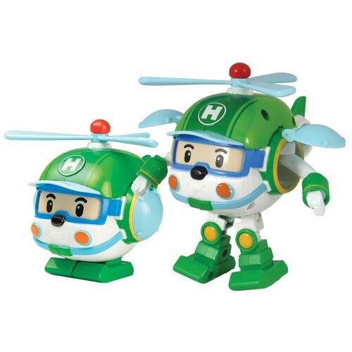 Купить Трансформер Silverlit Robocar Poli Хелли 10 см зеленый, Роботы и трансформеры
