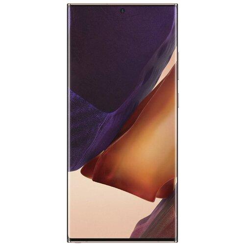 Смартфон Samsung Galaxy Note 20 Ultra 8/256GB, бронза смартфон samsung galaxy note 10 8 256gb aura glow аура