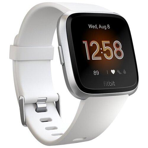 Умные часы Fitbit Versa Lite Edition, white/silver