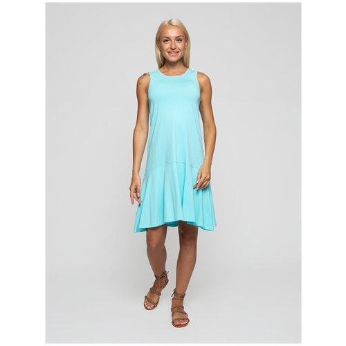 Женское легкое платье сарафан, Lunarable мятное, размер 52