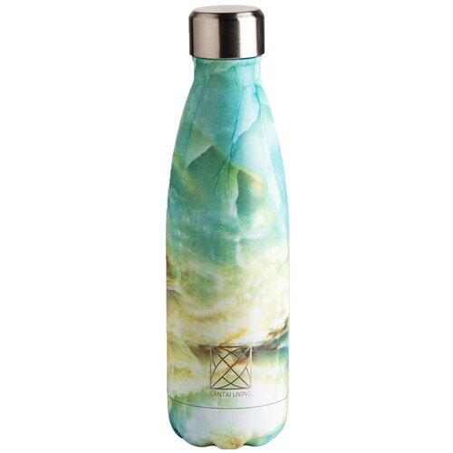 Термобутылка SANTAI LIVING Everyday, 0.5 л зеленый мрамор
