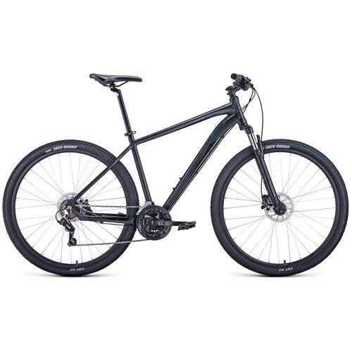 """Горный (MTB) велосипед FORWARD Apache 29 3.2 Disc (2021) черный 17"""" (требует финальной сборки)"""