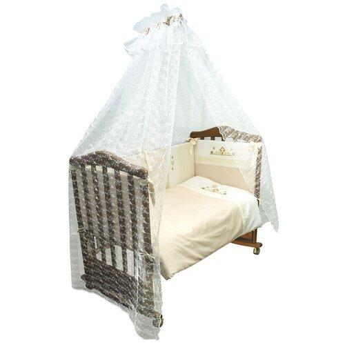 Купить Сонный Гномик комплект Кантри (7 предметов) бежевый, Постельное белье и комплекты