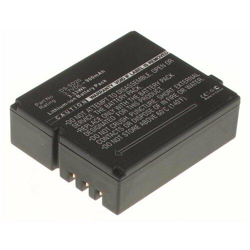 Фото - Аккумулятор iBatt iB-B1-F438 900mAh для AEE, Hama, Rollei DS-SD20, CS-RBD400MC, аккумулятор ibatt ib u1 f441 900mah для sjcam sj4000