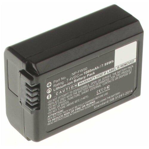 Фото - Аккумулятор iBatt iB-B1-F297 1080mAh для Sony NP-FW50, аккумулятор acmepower np fw50