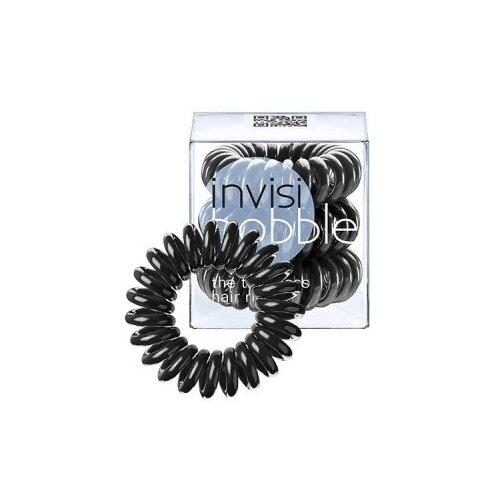 Резинка-браслет для волос invisibobble ORIGINAL True Black/черный