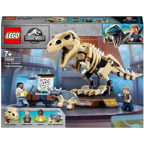 Купить Конструктор LEGO Jurassic World 76940 Скелет тираннозавра на выставке, Конструкторы