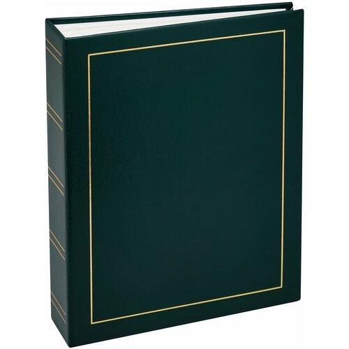Фотоальбом Fotografia 10x15 см., 200 фото, винил. обложка, зеленый, FA-VPP200 - 503, классика (12)