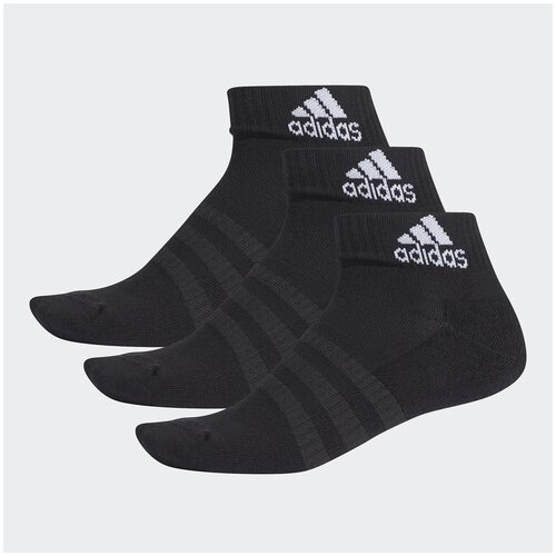 Носки (3 пары) Adidas Cush Ank 3Pp Черный XL DZ9379