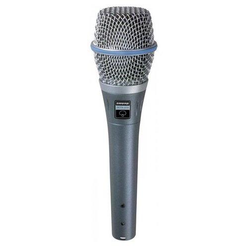 SHURE BETA 87A Микрофон shure beta 52a микрофон