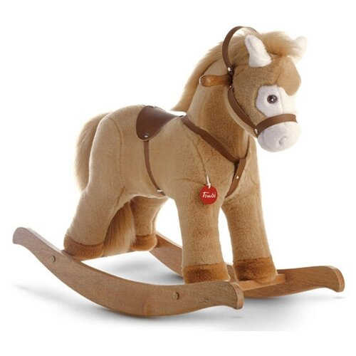 Мягкая игрушка Trudi Лошадка-качалка (бежевая) мягкая игрушка trudi лошадка делюкс 15 см
