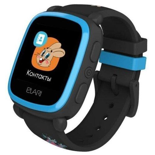 Часы ELARI KidPhone «Ну, Погоди!» Синий/черный