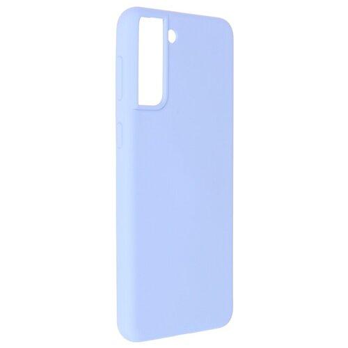 Фото - Чехол Pero для Samsung S21 Plus Liquid Silicone Light Blue PCLS-0039-LB чехол pero для samsung s21 plus liquid silicone yellow pcls 0039 yw