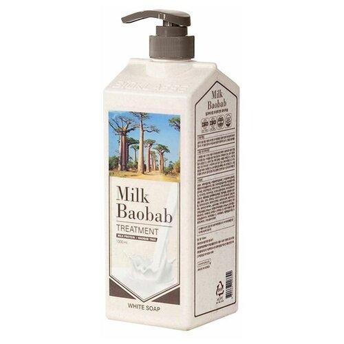 Купить MilkBaobab PWS Бальзам для волос MilkBaobab Perfume Treatment White Soap (500 мл), Milk Baobab