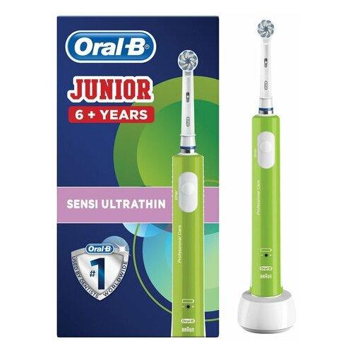 """Зубная щетка электрическая детская ORAL-B (Орал-би) """"Junior"""" 6+ лет D16.513.1 53019222 1 шт."""