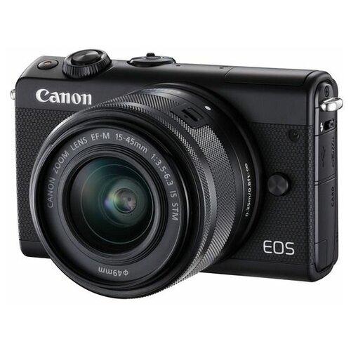 Фотоаппарат Canon EOS M100 Kit черный 15-45mm IS STM LP-E12