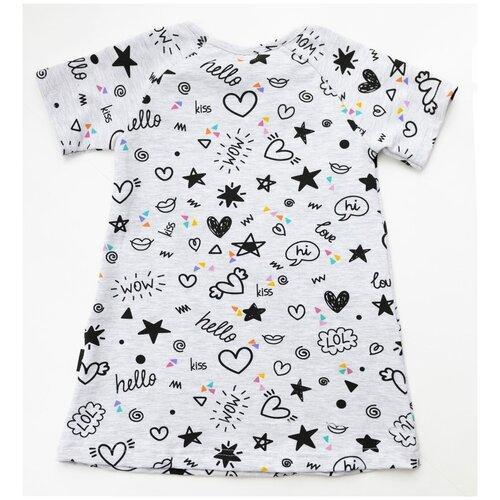Платье Baby boom размер 98, значки