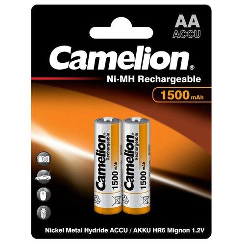 Фото - Аккумулятор Ni-Mh 1500 мА·ч Camelion NH-AA1500, 2 шт. аккумулятор ni mh 1000 ма·ч camelion nh aaa1100 2 шт