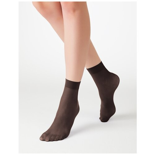 Капроновые носки MiNiMi Micro Colors 50 3D, размер 0 (one size), moka