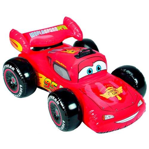 Фото - Надувная игрушка-наездник Intex Тачки Disney-Pixar 58576 красный игрушка наездник надувная intex черепаха с ручками intex 191х170 от 3 лет 57555
